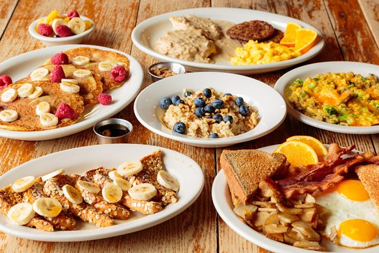 Hearty And Healthy Breakfast Selections At The Bright