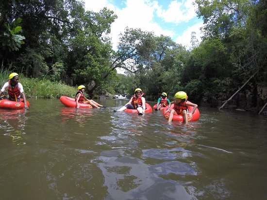 Crowned Eagle Tours and Safaris: This white water Tubing/Geckoing takes a