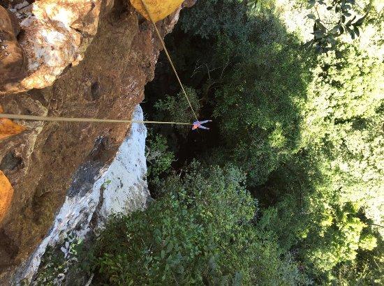 Ian Anderson's Caves Branch Adventure Company : Black Hole Drop