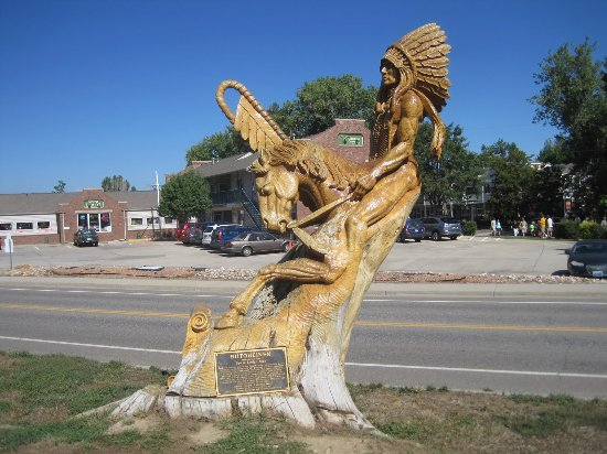 Spear Lodge Man, inspired by Chief Niwot