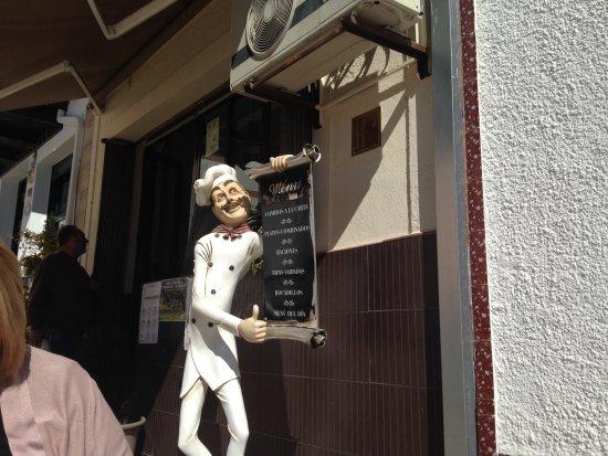 Monesterio, Spanje: Bar entrance
