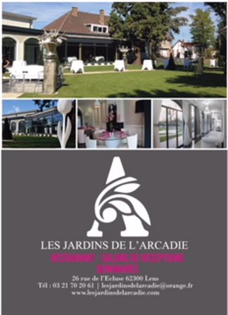 les jardins de l 39 arcadie lens omd men om restauranger tripadvisor. Black Bedroom Furniture Sets. Home Design Ideas