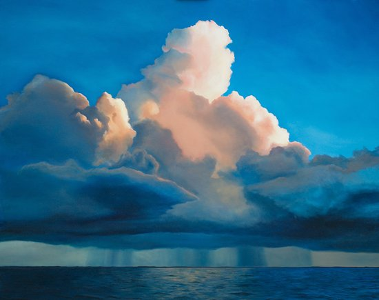 Traverse City, MI: Storm Over Sea- Edward Duff at Higher Art Gallery