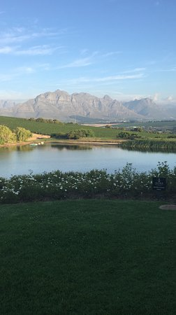 Asara Wine Estate & Hotel: View from room