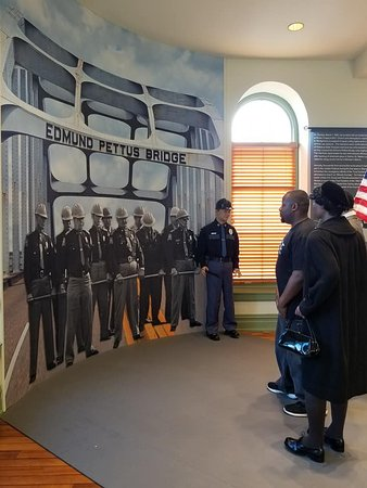 Selma Interpretive Center: powerful