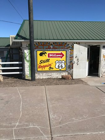 Joseph City, AZ: Jack Rabbit trading post