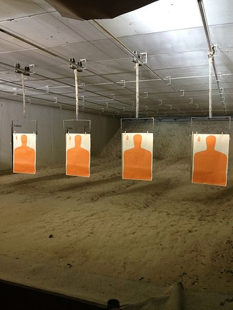Baker, LA: We have seven 25-yard lanes that can handle rifle, pistol, or shotgun up to 50 BMG!