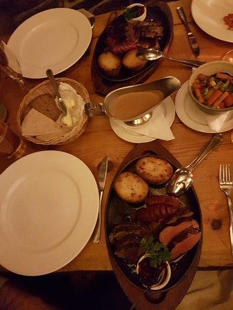 Lappland style dinner