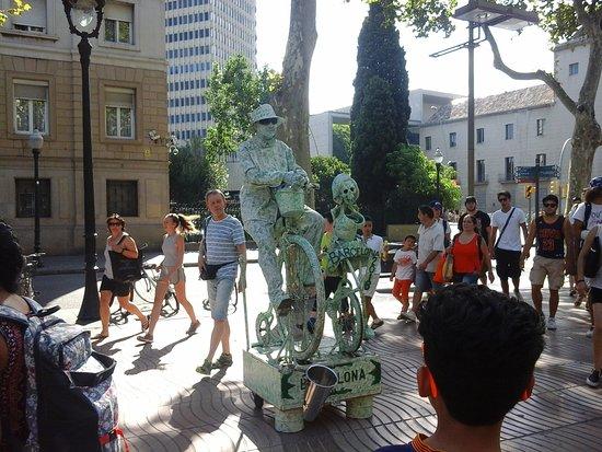 Esparza de Salazar, Испания: La Rambla Barcelona.
