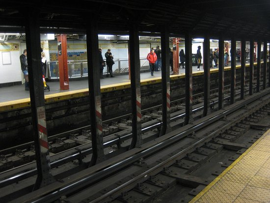 Cortlandt Street, NYC Subway -...