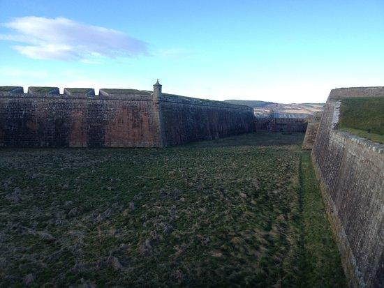 Ardersier, UK: giant moat