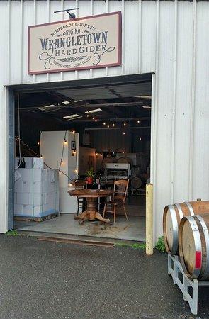 Wrangletown Cider Company in Arcata, CA