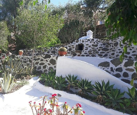Jardines de Cactus - Picture of Restaurante Valle de Mogan, Mogan ...