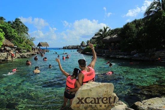 Parque Xcaret: Snorkel