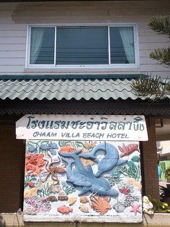 Cha-am Villa Beach Hotel: 22/02/2018 - Seafront room at 1000 baht
