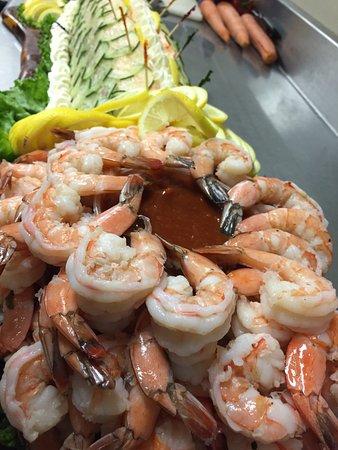 Tubac, AZ: Shrimp and Salmon