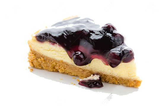 Bogo, Philippines : Blueberry Cheesecake made in-house!