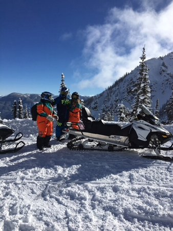 Panorama, Canada: Heading to the bowl