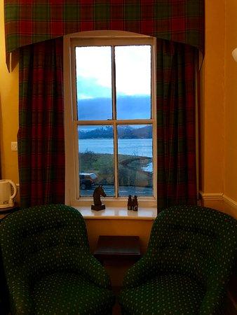 Ballachulish Hotel: La vue depuis notre chambre