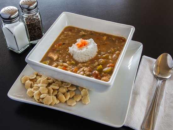 Hillside, IL: Delicious Homemade Gumbo.  Made with Chicken Breast and Turkey Sausage.