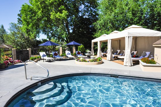 The Palm: Heated Saltwater Pool and Cabanas