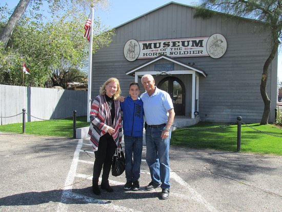 Rae and the McClellan saddle - Picture of Museum of the