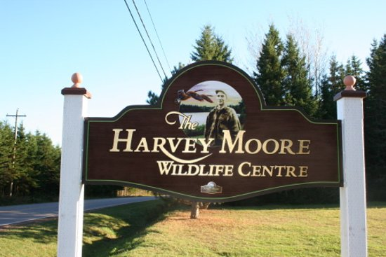 Montague, Kanada: This is the entrance sign...