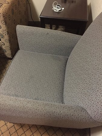 Blythewood, Caroline du Sud : Stains on chair