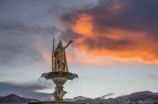 Cusco om natten: Planetarium Cusco...