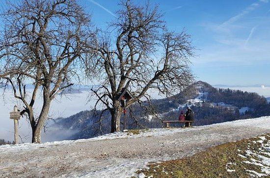 HIKING ABOVE LJUBLJANA, VIEW TO THE...