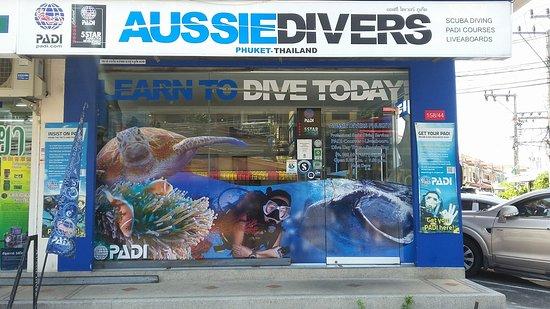 普吉澳洲人潜水店