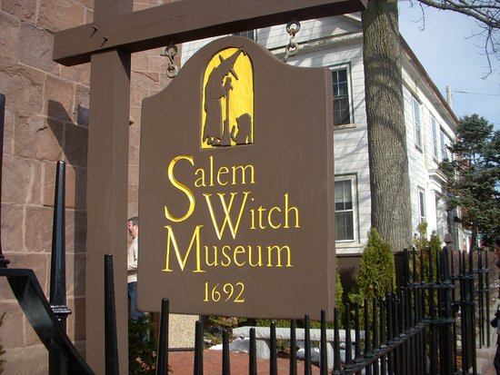 Entrance to the Salem Witch Museum