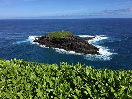 Kilauea, Havai: Island off coast of refuge