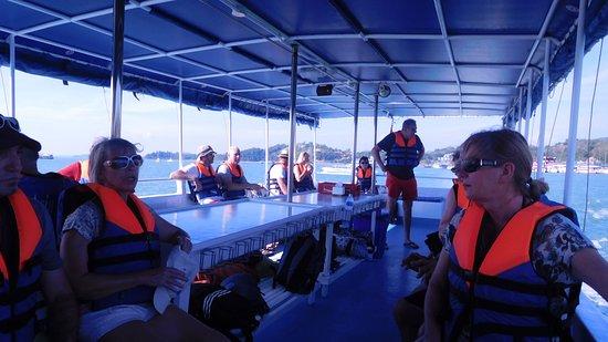 Phang Nga Bay: One the boat
