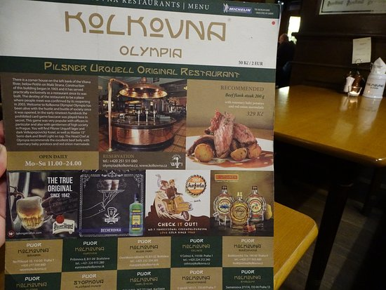 Kolkovna Olympia : Интерьер