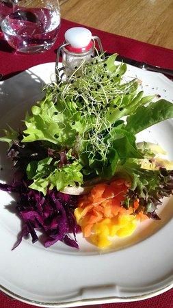 Cardada, Szwajcaria: kleiner Salat