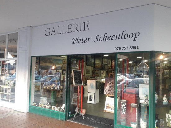 Pretoria, Zuid-Afrika: Our storefront at Groenkloof