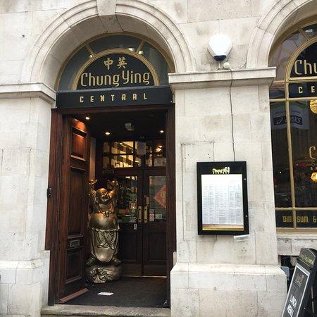 Chung Ying Central Bar & Restaurant: Entrance