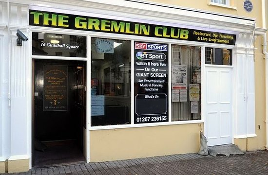 Кармартеншир, UK: Welcome to The Gremlin Club.