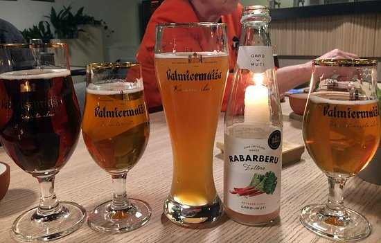 Valmiera, Letonia: Beer and limonades