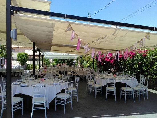 Montaje de un bautizo obr zok restaurante el sorell - Restaurante el cielo alicante ...