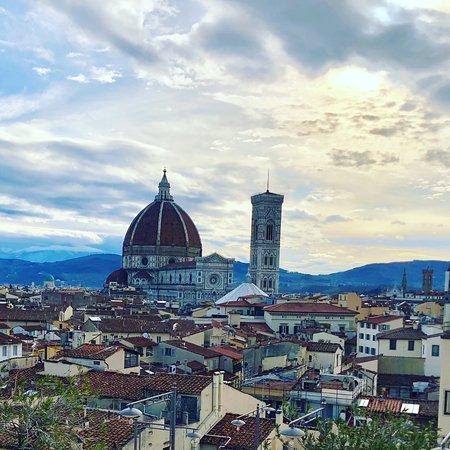 Il panorama dalla Terrazza del Baglioni - Picture of Grand Hotel ...