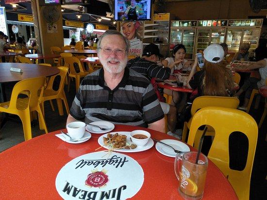 Chinatown Seafood Restaurant: Chicken Satay