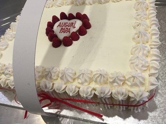 Torta Compleanno Con Base Frolla Crema Frutti Di Bosco Pan Di