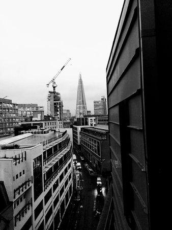 Premier Inn London Southwark (Tate Modern) Hotel: Vue depuis notre chambre n° 801
