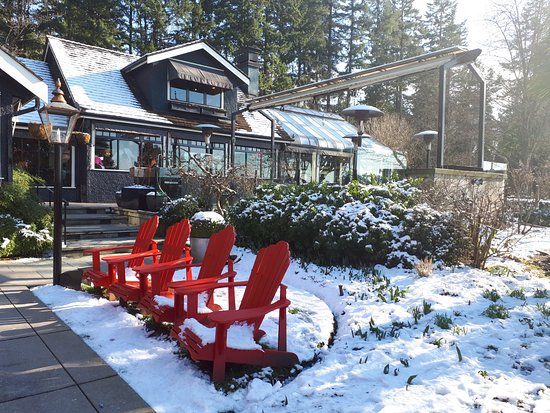 Teahouse in Stanley Park照片