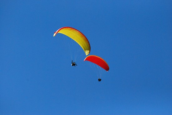 Aosta, Italy: Volo in parapendio biposto