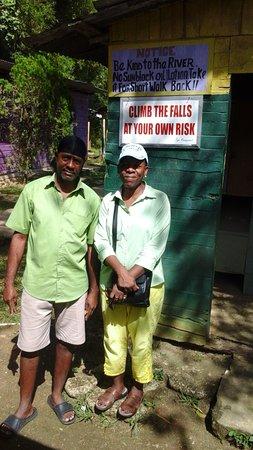 Savanna La Mar, Jamaica: With Tony, my great Tour Guide!
