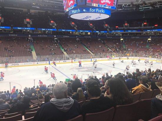 Rogers Arena: Canucks v the Boston Bruins