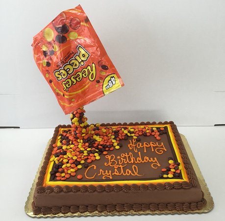Fabulous Reeses Cake Picture Of Browns Bakery Inc Oklahoma City Funny Birthday Cards Online Inifofree Goldxyz